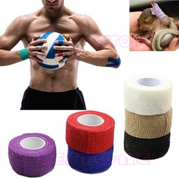 Wholesale Kinesiology Muscle Tape - Wholesale- New 1 Roll Kinesiology Muscle Care Fitness Athletic Safety Sport Health Tape