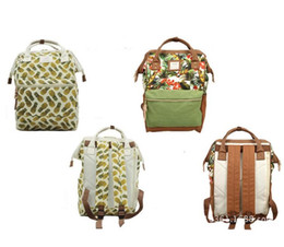 Wholesale School Bag Floral - School Backpacks For Teenage Girls Cute Girl School Backpack For School College Bag For Women Lightweight Ring Backpack DHL Free Shipping