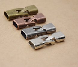 Wholesale Diy Bracelets Materials - Accessory Materials Metal Clasps Connector For DIY Bracelet Jewelry Components 50x lot