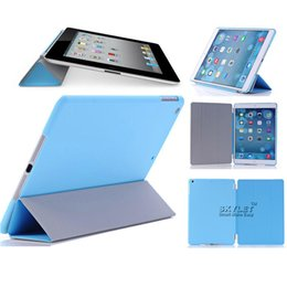 Wholesale Original Smart Case For Ipad - Original style Slim Magnetic Smart Cover Case With Sleep Wake Up For The New ipad 2 3 4 ipad air 5 9.7 inch ipad mini 7.9 inch