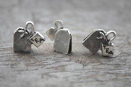 Wholesale Tea Charms Wholesale - 130pcs-Tea-Bag-Charms-Tea-Bag-Pendants-Antiqued-Silver-Tone-Double-Sided-12-x-15-mm