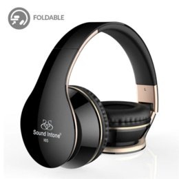 Wholesale Ipad Headphones Volume Control - Sound Intone I65 Headphones with Microphone and Volume Control Foldable Headset for iPhone 6 6s iPad iPod, Android Device