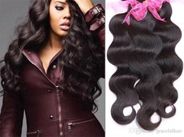 Wholesale Cheapest Indian Remy Hair Extensions - 1 piece sale 8A Brazilian Human Hair Body Wave Hair Weave 100% Unprocessed Remy Virgin Hair Extensions Cheapest Body Wave 100g lot cmq30