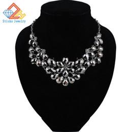 Wholesale Bubble Resin - Choker Necklace Women Fashion Mixed Style Irregular Bubble Bib Choker Statement Necklaces & pendants