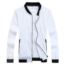 Wholesale Light Collar Xs - Wholesale- 2016 Summer Ultra-Light Windbreaker Casual Jacket Men Women Windproof Quick-Dry Clothes Skinsuit Outwear,EDA450