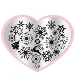 Wholesale Pattern Stamp Tool - Wholesale-Flower Pattern Fashion DIY designer Steel Plate Nail Art Image Print Stamp Stamping Manicure Template DIY Polish Tools