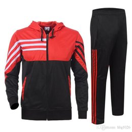 Wholesale Jackets Sleeves For Men - Basketball exercise tracksuits for men casual long sleeve men hoodies jackets new autumn basketball team tracksuit free shipping
