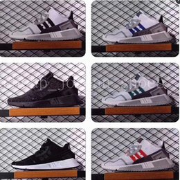 Wholesale Shoes Europe Men - EQT Cushion ADV 91 17 men women Running Shoes Triple Core Black White Red Blue green North America Europe Asia sports sneakers size36-44