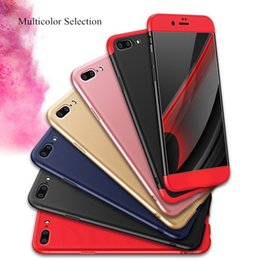 Wholesale Iphone Luxury Design Case - New Design GKK Shields 360 Degree Protection Full Cover PC Phone Case Luxury Dirtproof Back Cover For Iphone 6s Plus 7 Plus Wholesale