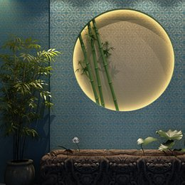 Wholesale Window Insulation Roll - Wholesale-New 2015 wallpaper geometric, Chinese classical window Plaid non-woven papel de parede,5.3 square entrance teahouse wall paper
