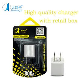 Wholesale Dual Usb Wall Power Adapter - Metal Dual USB wall US plug 800mA AC Power Adapter Wall Charger Plug 2 port for samsung galaxy note LG tablet ipad