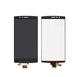 Wholesale Touch Screen G4 - Best quality LCD for LG G4 H815 H812 H811 LCD touch screen digital converter, black and white mixed free shipping factory outlet