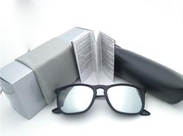 Beste fahren sonnenbrillen polarisiert online-BESTPreis Polarized Damen Sonnenbrillen neue Designer Sonnenbrillen Driving Mode Sonnenbrillen 54mm Quadratischen schwarzen Rahmen mit Box Fall