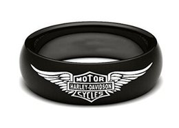 Wholesale Cool Rings For Men - 2016 Cool newest fashion Biker ring For Real Biker man,polishing style hot sellers good quality Black Band New biker ring