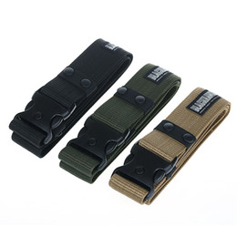 Wholesale Military Army Combat - Finest Tactical Gear Combat Train Police Duty Military Army Belt Black Hawk
