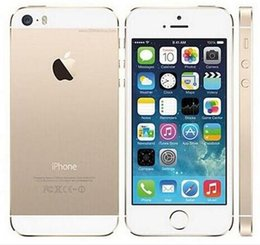 "Wholesale Unlocked Iphone 5s Wholesale - Apple iPhone 5S Without Fingerprint 64GB 32GB 16GB iOS 8 4.0"" IPS HD A7 8MP Refurbished Unlocked Mobile Phone"