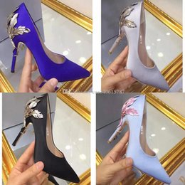 Wholesale Green Blue Prom Shoes - 2017 new arrival bridal shoes white burgundy blue green grey black wedding shoes heels silk pump shoes for wedding prom evening 10cm 35-39