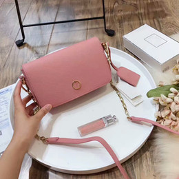 Wholesale Double Shoulder Woman Leather - 2017 new fashion hot women double T personality bags Famous Designers Brand T Chain leather handbag flap crossbody shoulder bag 115