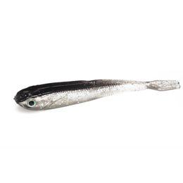 10 STÜCKE 75mm 2,2 gramm Weichen Fischköder Grau Köder Swimbait Silber Karpfen Fisch Angelgerät locken heißer verkauf Künstliche Köder von Fabrikanten