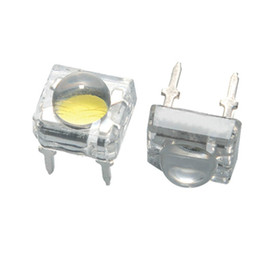 Wholesale Yellow Piranha - Wholesale- 80mA 5mm Piranha LED, four-chip,Eagle-eye SMD Superflux LED, High Brightness Red,Green,Blue,Yellow,Warm White, Cold White