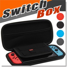 Wholesale Videos Host - For Nintendo Switch 4 Colors Video Game Hosting Bag Controller Carrying Case NS Vedeo Game Console Protective Pouch Bag