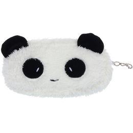 Wholesale Kawaii Panda Plush - Wholesale- Kawaii Plush Fluffy Panda Coin Pencil BAG Pouch Case Pack Pendant cases Coin Purse Wallet 72-91#