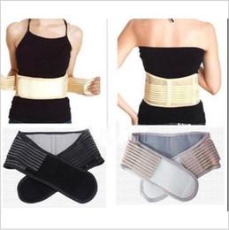 Wholesale Magnetic Waist Slimming - Magnetic Slimming Massager Belt Lower Back Support Waist Lumbar Brace Belt Strap Backache Pain Relief Health Care YYA133