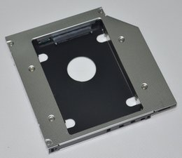 Wholesale Hdd For Asus - Wholesale- 2nd HDD SSD Hard Drive Caddy Adapter for ASUS A42 A40J A42J A42F Swap TS-L633C