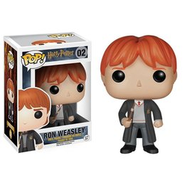 Wholesale Harry Good - Funko POP Movies Harry Potter Ron Weasley Action Figure with Original Box Good Quality Free Shipping
