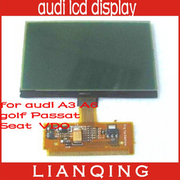 Wholesale A6 Lcd Vdo - Gooe Quality For VW A3 A4 A6 VDO LCD Display For Audi Lcd Display 10pcs lot free ship