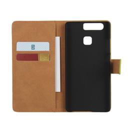 Wholesale Lenovo Flip Covers - For Sony C5 C6 Ultra E5 E4 M4 Huawei P9 Lenovo K5 Vibe B Flip Leather Case Wallet Credit Card Holder Magnetic Cover