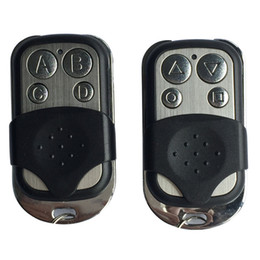 Wholesale Garage Door Remote Duplicator - Wholesale-FREE SHIPPING 433 mhz RF Remote Control Copy code cloning Electric gate duplicator Key Fob learning garage door controller