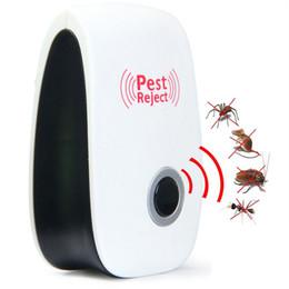 Wholesale Indoor Electronic Pest Control - Electronic Ultrasonic Pest Repeller Indoor Anti Pest Bug Control Repeller Rat Mosquito Killer Bug Reject EU US AU Plug