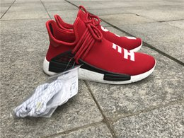 Wholesale Factory Family - 2017 Factory Human Race Friends and Family Pharrell NMD Real Boost with Nipples Runner Pharrell Williams NMD Running Shoes size 36-48