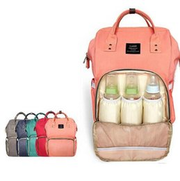 Wholesale Mummy Maternity Nappy Diaper Bag Large Capacity Baby Bag Travel Backpack Diaper Maternity Backpacks color KKA2047