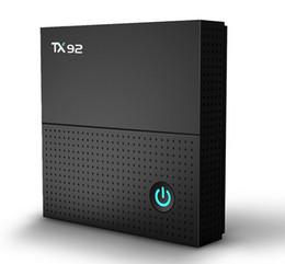 Wholesale Dual Lan - TX92 4K TV Box Amlogic S912 Octa-core CPU Android 7.1 OS BT 4.1 1000M LAN 2.4G 5G Dual-band WiFi