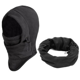 Wholesale Neck Warmer Ski Mask - 1pcs Winter Windproof Hiking Caps,Thermal Fleece Balaclava Face Mask,Ski Bike Motorcycle Neck Warmer Helmet