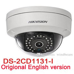 Wholesale Dome Camera Indoor Outdoor - English version DS-2CD1131-I replace DS-2CD2135F-IS DS-2CD2135F-IWS 3MP network mini dome cctv camera POE IP camera H.264+