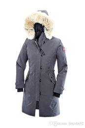 Wholesale Women Long Winter Puffer Jacket - women Parkas High Quality CANADA New Winter Men's Down puffer jacket Casual Brand Hoodies Down Parkas Warm Ski Mens Coats Black Red 200