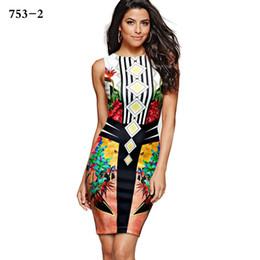 Wholesale Boho Xxl - Fashion Womens Dresses New Arrival 2017 Summer Bohemian Dresses Long Elegant Ladies Office Dress Plus Size S-Xxl Boho LH 753