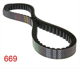 Wholesale Belt For Scooter - Wholesale- belts 669-18-30 CVT Drive Belt, 669 18 30 Drive Belt for Most GY6 50cc 139QMB Scooter Moped (Short-Case), Tank, TNG, Vento, VIP