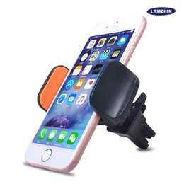 Wholesale Galaxy Smartphones - Universal CD Slot Car Mount Adjustable Cellphone Holder Cradle for iPhone 7 Plus Samsung Galaxy S8 LG Huawei Smartphones