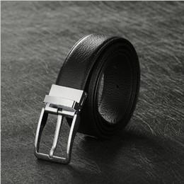 Wholesale L5 Leather - New men's Genuine Leather belt pin buckle Korean wild for men casual leather belt strap belt wholesale l5