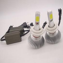 Wholesale Led H4 Cree - 2pcs 80W 12V CREE Led Beam Replacement LED conversion kit DRL Fog Headlight Conversion kit Bulb H1 H4 H7 H8 H11 9006