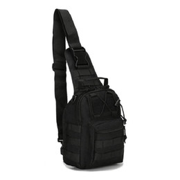 Wholesale Military Tactical Camping Shoulder Bag - Hlq Durable Outdoor Shoulder Military Tactical Backpack Oxford Camping Travel Hiking Trekking Runsacks Bag Free Shipping