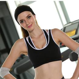 Wholesale Best Underwear For Women - best sport bra for run Anti - shock without steel ring yoga underwear sports vest female sports underwear superman sport bra