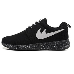 Wholesale New Fabric Roses - New brand Run 2 Original Running Shoes Mens and Womens roche run black and white rushe one rose RunIngs runing shoes size 36-45