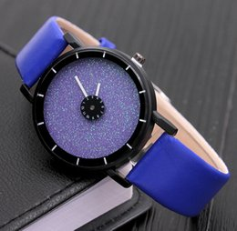 Wholesale Star Chronograph - Fashionable Popular New quartz leisure alloy Phantom star empty sands celestial compass rotary Wristwatches - Free Shipping + Free Gift