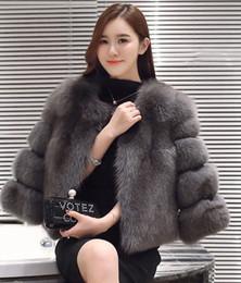 Wholesale Fake Mink Coats - S-3XL Mink Coats Women 2017 Winter New Fashion Pink FAUX Fur Coat Elegant Thick Warm Outerwear Fake Fur Jacket Chaquetas Mujer
