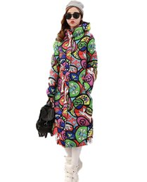 Wholesale Womens White Coats For Winter - 2017 New Long Parkas Female Women Winter Coat Thickening Cotton Winter Jacket Womens Outwear Parkas for Women Winter Outwear MY1